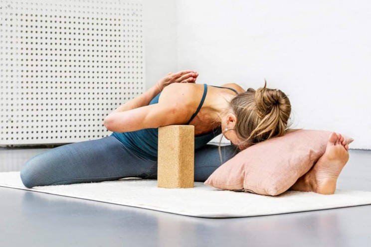 picture by Patricia Thorales yin yoga