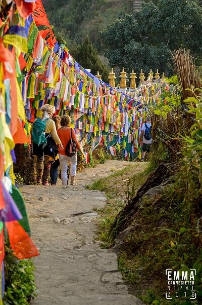 plaatje voorkant Yogareizen nepal